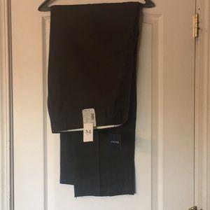 Men's flat front slacks